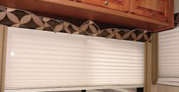 Pleated RV Shades